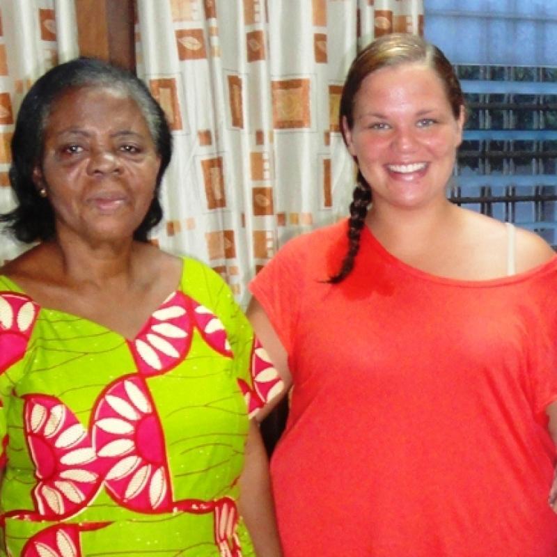 Amanda H in Ghana